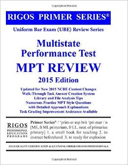 Multistate performance test reviews