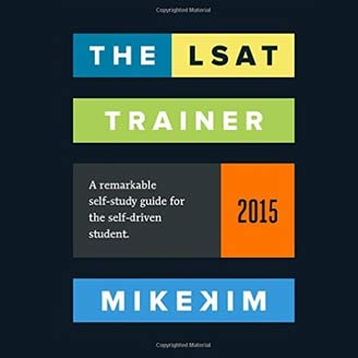 Audio and video tutorials with lsat prep books by fmlt the lsat trainer a remarkable self study guide for the self driven student 1st edition malvernweather Image collections