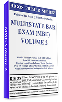 Multistate Bar Exam- Study material- Volume 2